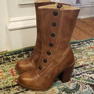 Oak Tree Farms leather boots- size 6.5